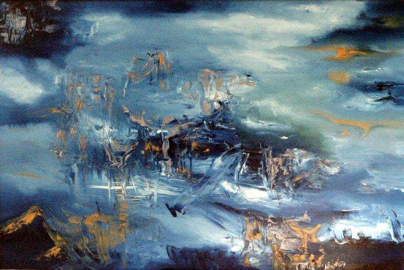 Jeanette Damsma - Schilderij - 1001