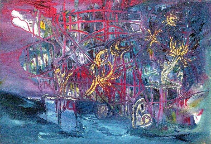 Jeanette Damsma - Schilderij - 1005