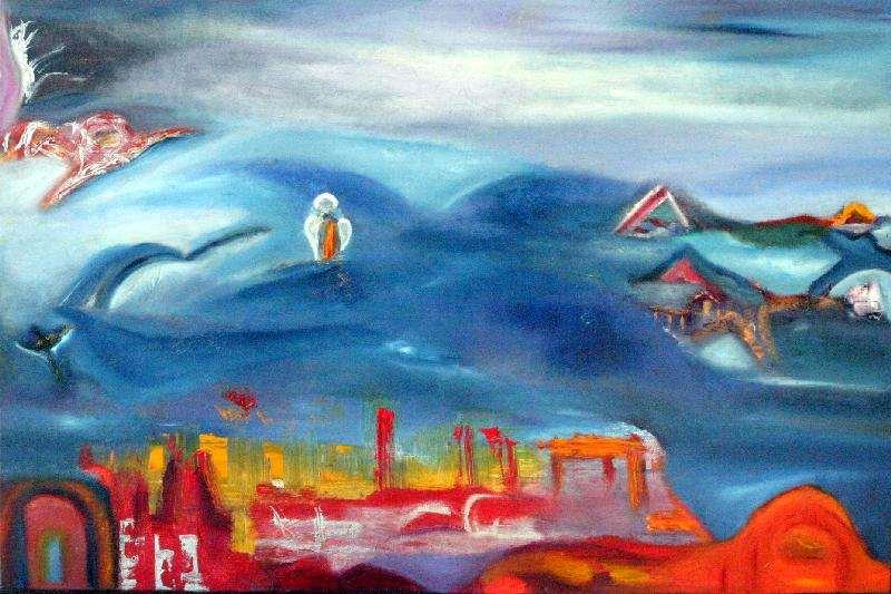 Jeanette Damsma - Schilderij - 1014