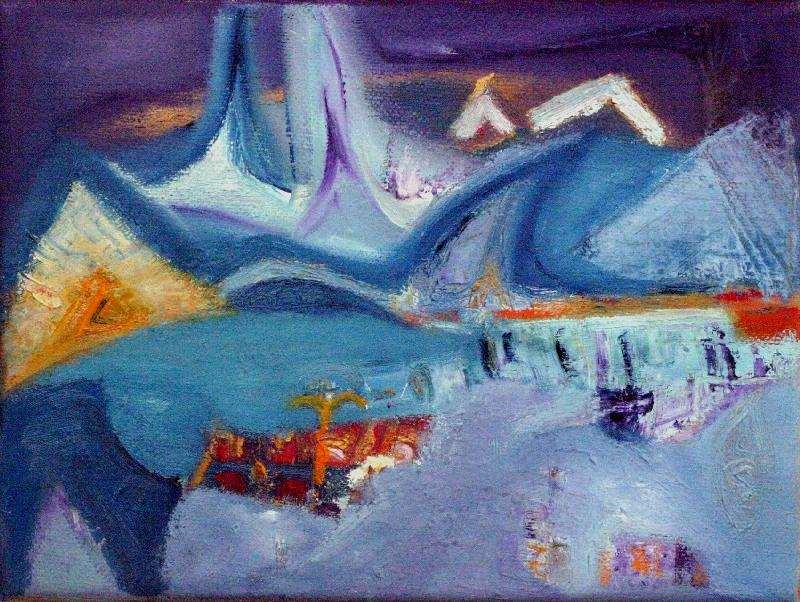 Jeanette Damsma - Schilderij - 1020